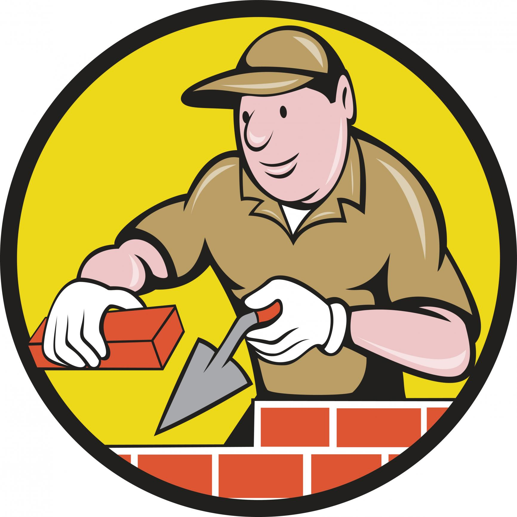 This is a picture of a brick repair pro.